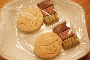 こどもとミニこいのぼりクッキー